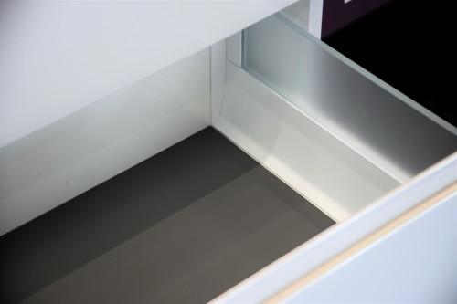 Ensemble de salle de bains Evoluti LUMY reposant L.60 cm blanc éclat